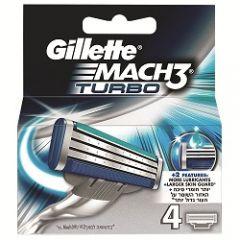 סכין גילוח מאך 3 טורבו Gillette