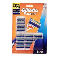 מארז 16 סכיני גילוח פיוזן ידני - Gillette