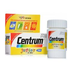 צנטרום ג'וניור מולטיויטמין לילדים 30 טבליות