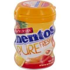 מסטיק מנטוס פיור פרש בטעם טרופי Mentos