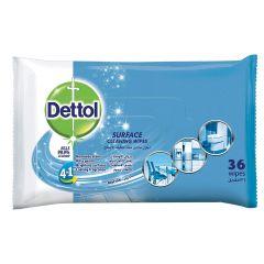 דטול מגבונים לניקוי משטחים 4 ב-1 Dettol