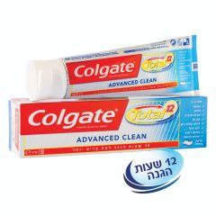 משחת שיניים Colgate Total ADVANCED CLEAN