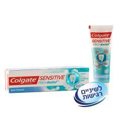 משחת שיניים sensitive pro relief קולגייט