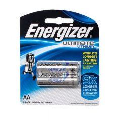 סוללות 2XAA ליתיום 1.5V אנרג'ייזר