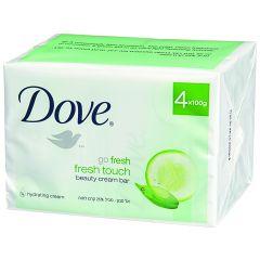 רביעיית אל סבון בניחוח מלפפונים ותה ירוק Dove