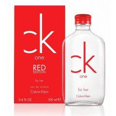 בושם לאישה קלווין קליין רד Calvin Klein CK One Red 100 ml EDT