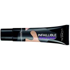 מייק-אפ לוריאל אינפליבל טוטאל קאבר L'OREAL Infallible Total Cover-12- Natural Rose