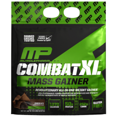 אבקת גיינר קומבט XL וניל MusclePharm Mass Gainer