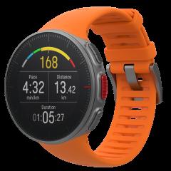 שעון מולטי ספורט פולאר ואנטג' V בצבע כתום Polar Vantage V