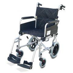 """כסא גלגלים להעברה מאלומיניום רוחב 45 ס""""מ"""