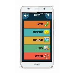 טלפון חכם לבן HUAWEI Y6
