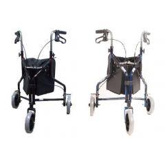 רולטור קל משקל שלושה גלגלים