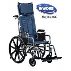 כסא גלגלים עם גב הטיה עד 180 מעלות Invacare
