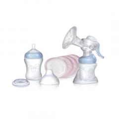 סט משאבת חלב יוקרתי - נובי Nuby
