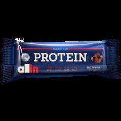 חטיף חלבון בטעם שוקולד פאדג  allin PROTEIN BAR