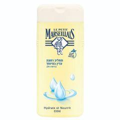 """לה פטיט מרסייה תחליב רחצה בניחוח חלב 650 מ""""ל LE PETIT MARSEILLAIS"""