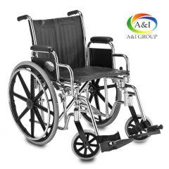 """כיסא גלגלים מתקפל פריק 40 ס""""מ A&I"""