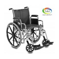 """כסא גלגלים מתקפל פריק 51 ס""""מ A&I"""