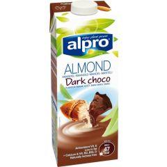 אלפרו משקה שקדים בטעם שוקולד מריר alpro