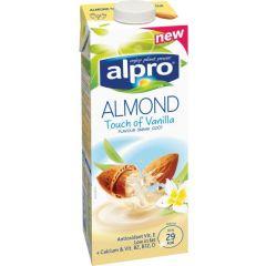 אלפרו משקה שקדים בטעם וניל 1 ליטר alpro