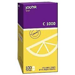 אלטמן ויטמין C 1000 לבליעה 100 קפליות