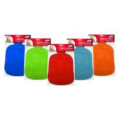 בקבוק מים חמים PVC + כיסוי בשלל צבעים
