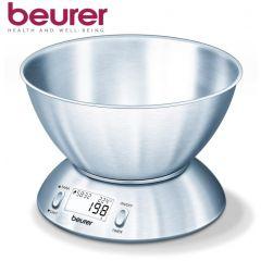 משקל מטבח עם קערת פלדה beurer KS54