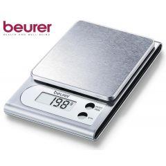 משקל מטבח קומפקטי פלדה beurer KS22