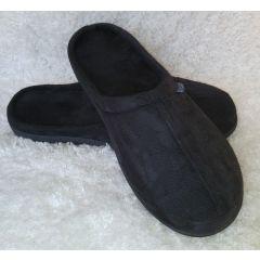 נעלי בית עם רפידת ויסקו בצבע שחור- דגם קלאסי מידה XL