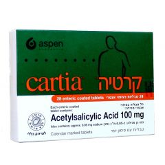 קרטיה טבליות 28 CARTIA TABLETS