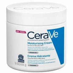 סרווה קרם לחות לעור יבש עד יבש מאוד 454 גרם CeraVe
