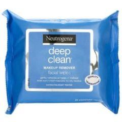 מגבונים להסרת איפור נטול שומן 25 יחידות - ניוטרוג'ינה Neutrogena