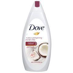 """תחליב רחצה מזין קוקוס 500 מ""""ל Dove Purely"""