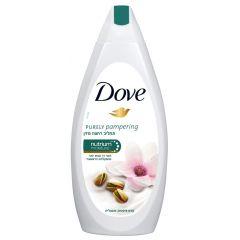 """תחליב רחצה מזין פיסטוק 750 מ""""ל Dove Purely"""