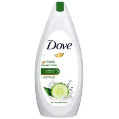"""תחליב רחצה מזין 750 מ""""ל Dove go fresh"""