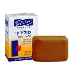 "אל סבון טיפולי פולידין ד""ר פישר Polydine Treatment Soap"