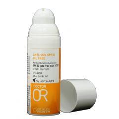 """תחליב הגנה נטול שומן SPF30 ד""""ר עור"""