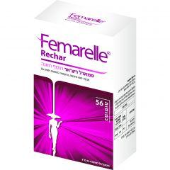 תוסף תזונה לנשים 50+ Femarelle Rechar
