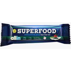 חטיף תמרים וקשיו עם תות ספירולינה וכלורלה SUPER FOOD