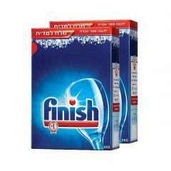מלח למדיח 2Kg - פיניש Finish - מארז זוג