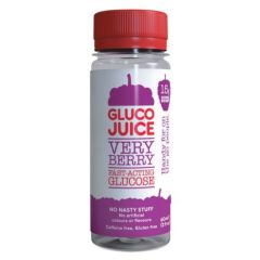 גלוקוז נוזלי לשתיה בטעם פירות יער