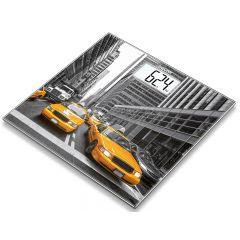 משקל אדם מזכוכית דגם ניו יורק  Beurer