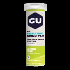 טבליות מתמוססות במים בטעם לימון GU