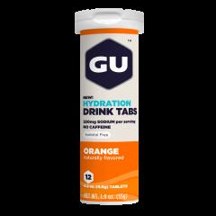 טבליות מתמוססות במים בטעם תפוז GU