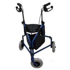 רולטור 3 גלגלים - כחול