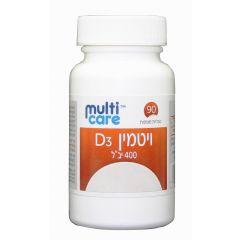 מולטיקאר ויטמין D3