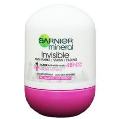 דאודורנט רול און מינרל גרנייה Garnier Invisible