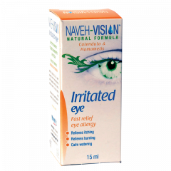 נווה פארמה NAVEH VISION IRRIT EYE 15ML - אלרגיה