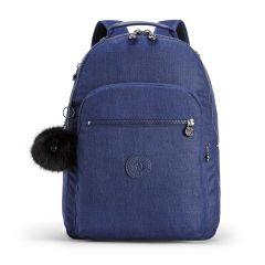 תיק גב CLAS SEOUL - כחול כותנה - 25 ליטר - קיפלינג Kipling