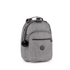 תיק גב CLAS SEOUL - אפור כותנה - 25 ליטר - קיפלינג Kipling